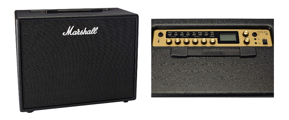 Marshall Code 50 digital combo amp